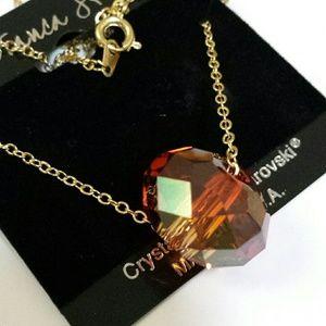 Swarovski Crystal Briolette necklace